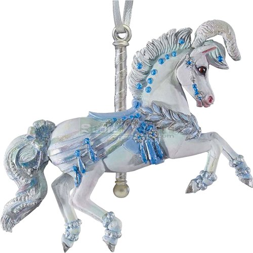 Winter Whimsy Carousel Ornament (Breyer 700622)