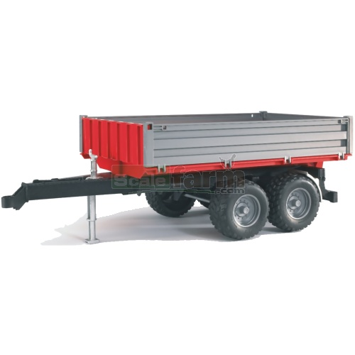Tipping Trailer With Removable Top (Bruder 02019)