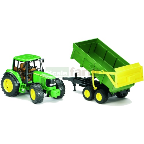 John Deere 6920 Tractor with Tipping Trailer (Bruder 02058)