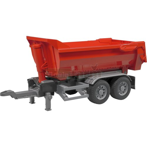 Half Pipe Tipping Trailer (Bruder 03923)
