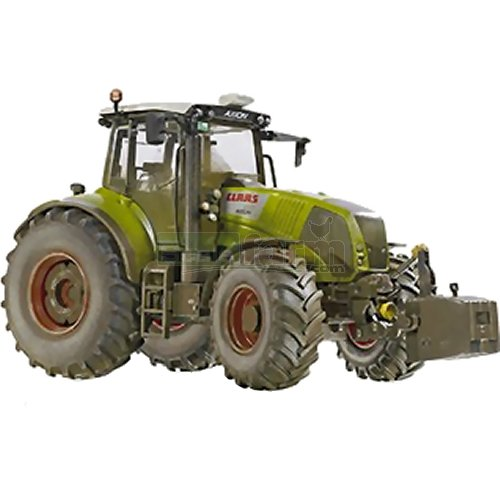 CLAAS Axion 850 Tractor - Weathered Effect (Wiking 7356)