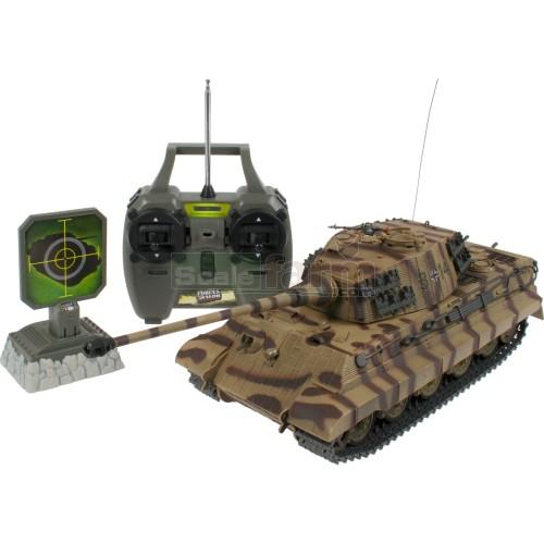 Revell 24219 - German King Tiger 27 MHz RC Tank - Battle Beam RC