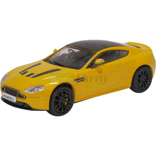 Aston Martin Vantage S - Sunburst Yellow (Oxford 43AMVT003)