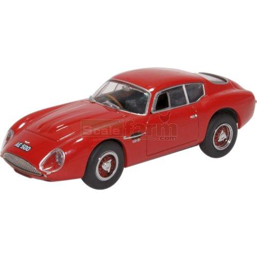 Oxford Diecast 43AMZ003 Aston Martin DB4 GT in Zagato Red 1:43