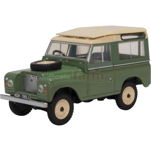 Land Rover Series IIA SWB Station Wagon - Pastel Green (Oxford  43LR2AS003)