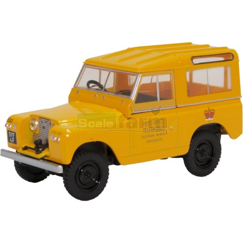 Land Rover Series II SWB Hard Top - Post Office (Oxford 43LR2S004)