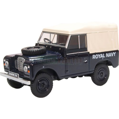 Land Rover Series III SWB Canvas - Royal Navy (Oxford 43LR3S004)
