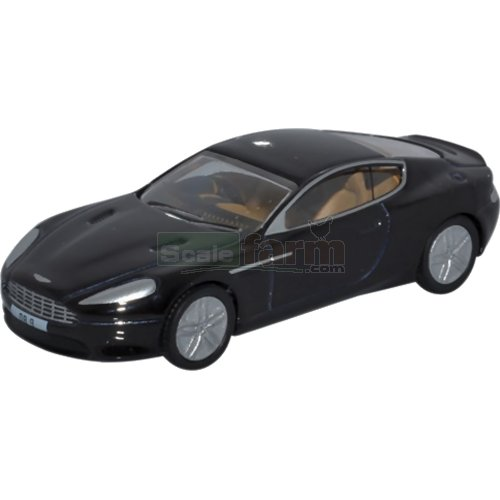 Aston Martin DB9 Coupe - Onyx Black (Oxford 76AMDB9002)