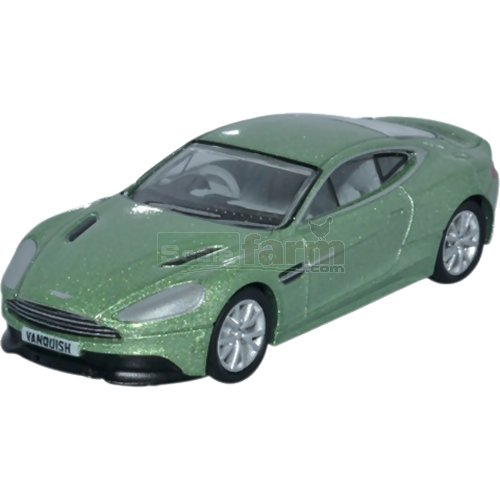 Aston Martin Vanquish Coupe - Appletree Green (Oxford 76AMV001)