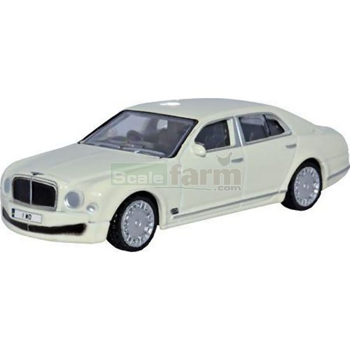 Bentley Mulsanne - White (Oxford 76BM001)