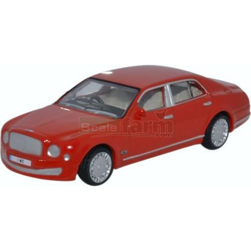 Bentley Mulsanne - St James Red (Oxford 76BM004)