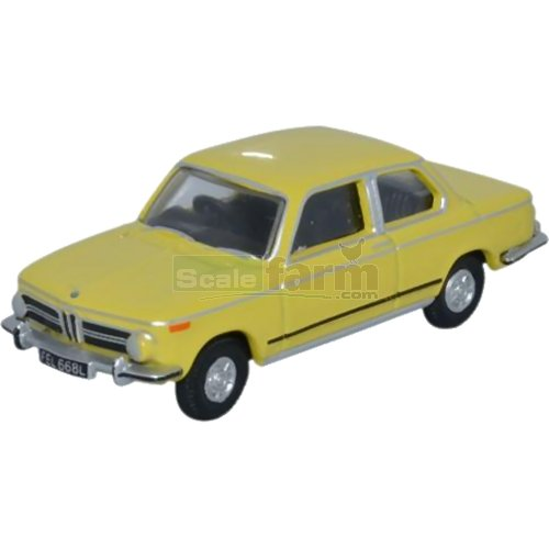 BMW 2002 - Golf Yellow (Oxford 76BM02002)