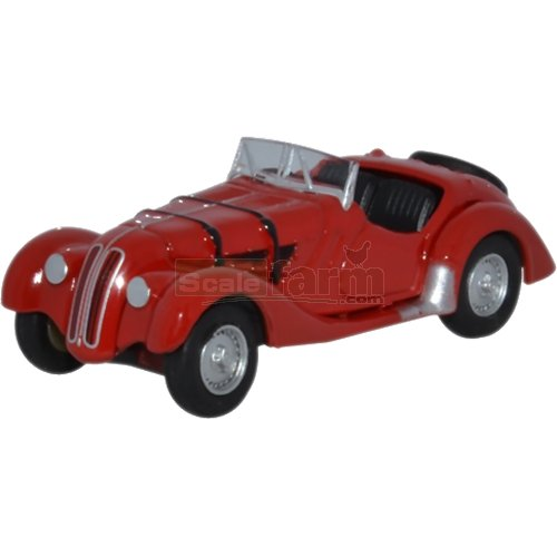 BMW 328 - Red (1936-1940) (Oxford 76BM28002)