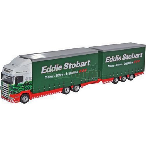 Scania R420 Topline Drawbar Unit - Eddie Stobart (Oxford 76DBU001)