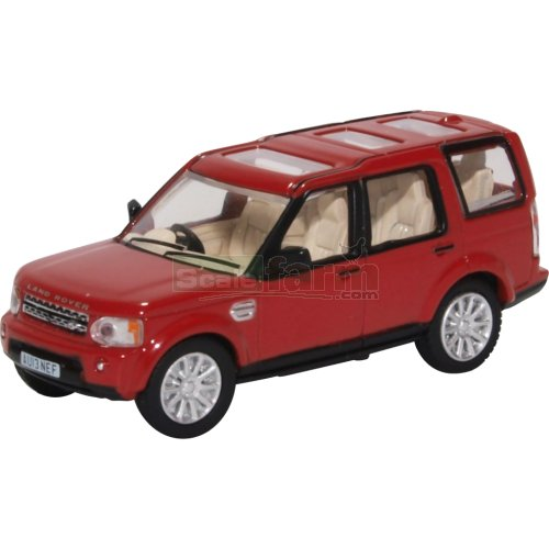 Land Rover Discovery 4 - Firenze Red (Oxford 76DIS005)