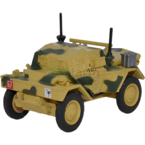Dingo Scout Car 50th RTR - 23rd Armoured Brigade (Oxford 76DSC001)