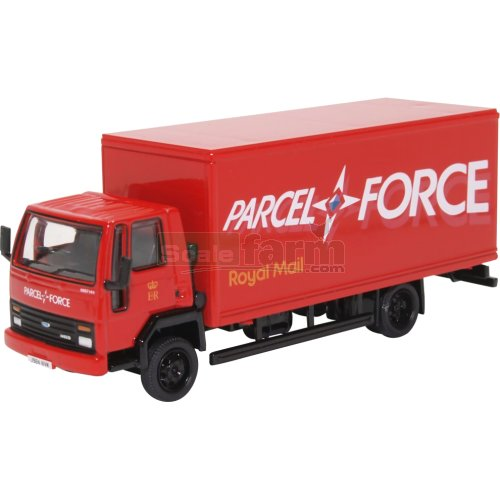 Ford Cargo Box Van - Parcelforce (Oxford 76FCG005)