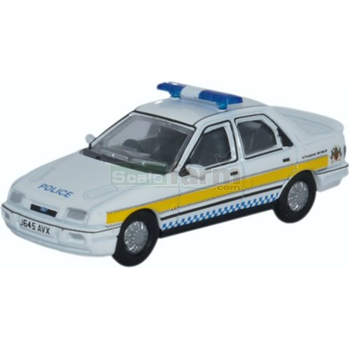 Ford Sierra Sapphire - Nottinghamshire Police (Oxford 76FS002)