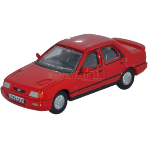 Ford Sierra Sapphire - Radiant Red (Oxford 76FS003)