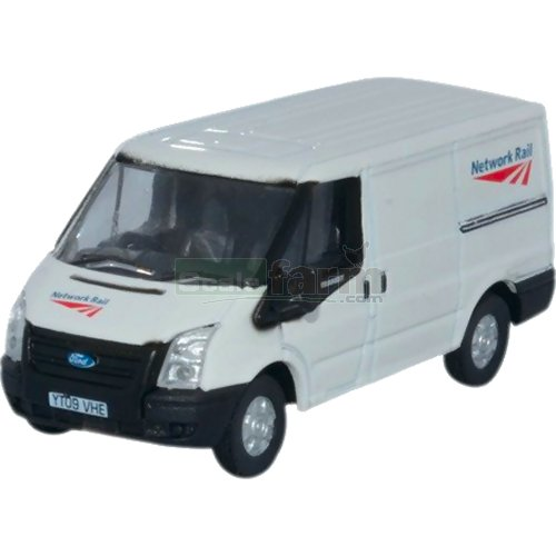 Ford Transit SWB Low Roof - Network Rail (Oxford 76FT023)