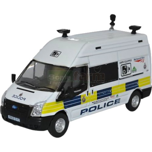 Ford Transit Mk5 LWB High Roof - Network Rail Speed Camera (Oxford 76FT026)