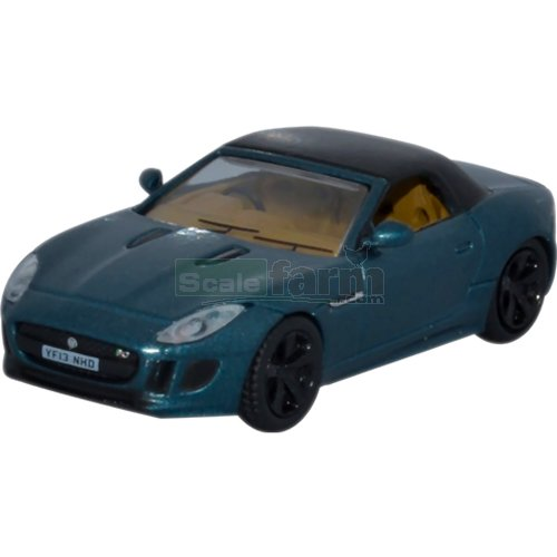 Jaguar F Type - British Racing Green Metallic (Oxford 76FTYP005)