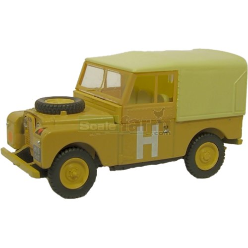 Land Rover Series I 88 Canvas - Sand Military (Oxford 76LAN188002)