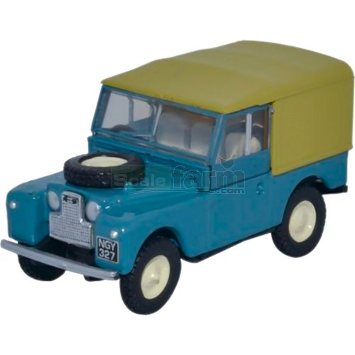 Land Rover Series I 88 Canvas - Marine Blue (Oxford 76LAN188023)