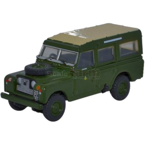Land Rover Series II LWB Station Wagon - 44th Infantry Division (Oxford 76LAN2007)