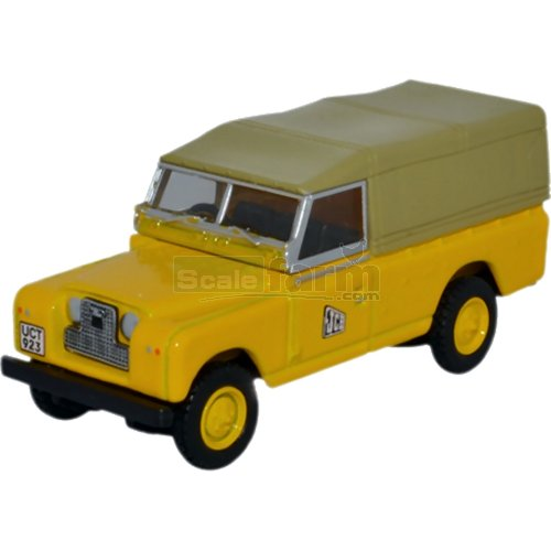 Land Rover Series II LWB Canvas - JCB (Oxford 76LAN2016)