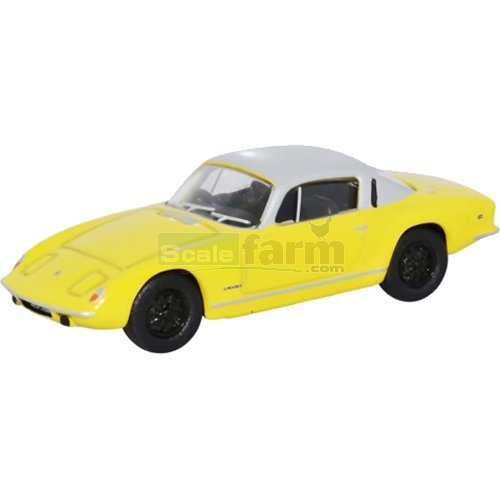 Lotus Elan Plus2 - Yellow/Silver (Oxford 76LE001)