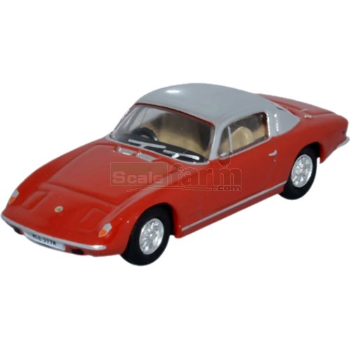 Lotus Elan - Red and Silver (Oxford 76LE003)