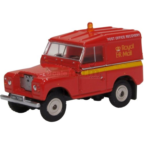 Land Rover Series IIA SWB Hard Top - Royal Mail (Oxford 76LR2AS002)