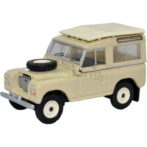 Land Rover Series III Station Wagon - Limestone (Oxford 76LR3S001)