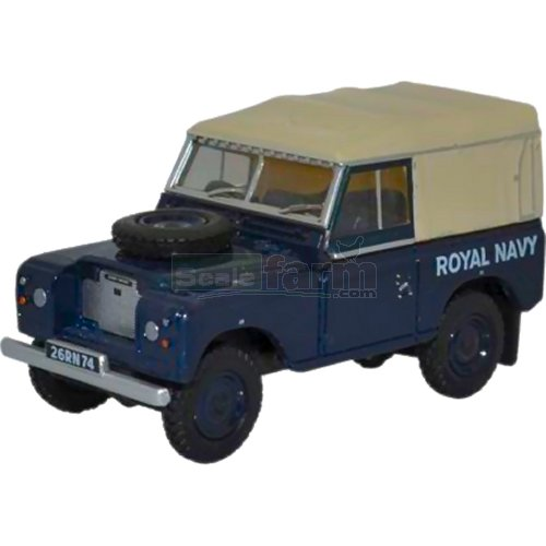 Land Rover Series III SWB Canvas - Royal Navy (Oxford 76LR3S004)