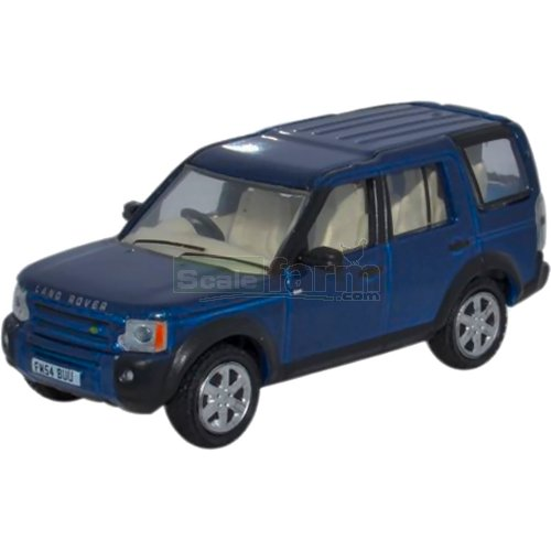 Land Rover Discovery 3 - Cairns Blue (Oxford 76LRD006)
