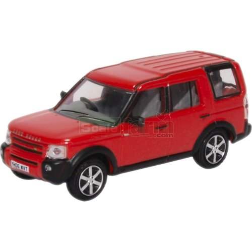 Land Rover Discovery 3 - Rimini Red Metallic (Oxford 76LRD008)