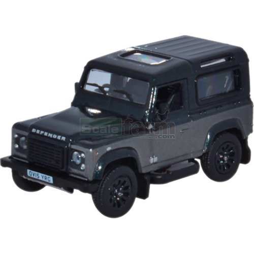 Land Rover Defender 90 Station Wagon - Corris Grey (Oxford 76LRDF009AU)