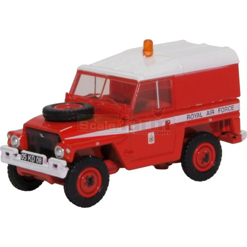 Land Rover 1/2 Ton Lightweight RAF - Red Arrows (Oxford 76LRL003)