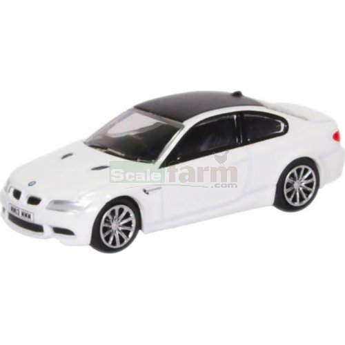 BMW M3 Coupe - Mineral White (Oxford 76M3001)