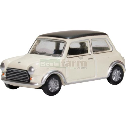 Classic Mini Cooper S MkII - Snowberry White (Oxford 76MCS004)