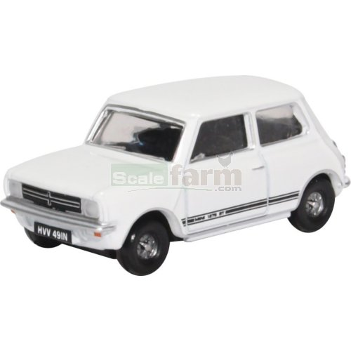 Mini 1275GT - Glacier White (Oxford 76MINGT005)