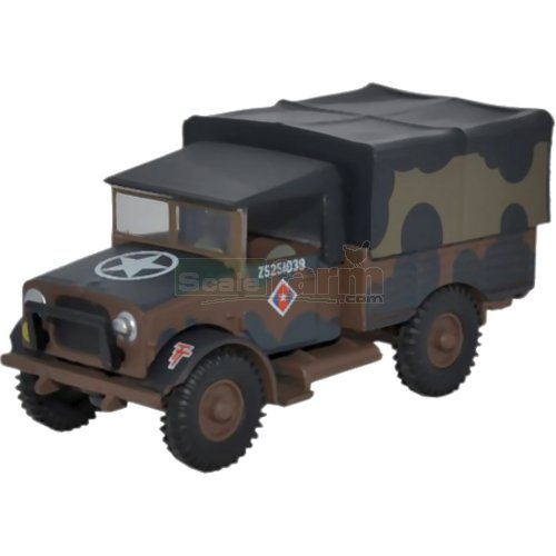Bedford MWD - British Army Mickey Mouse (Oxford 76MWD001)