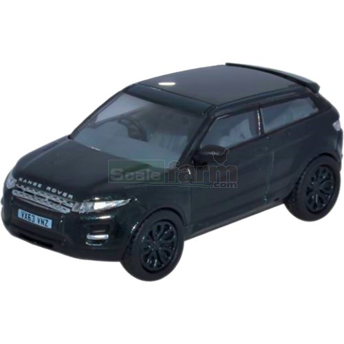 Land Rover Range Rover Evoque - Santorini Black (Oxford 76RR004)