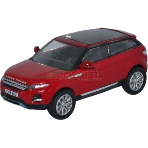 Range Rover Evoque - Firenze Red (Oxford 76RR005)