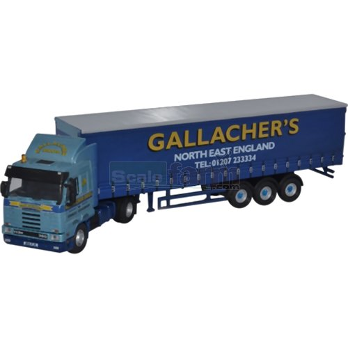 Scania 113 40ft Curtainside - Gallacher Bros (Oxford 76S143003)