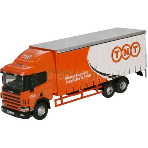 Scania 94 6 Wheel Curtainside - TNT (Oxford 76S94001)