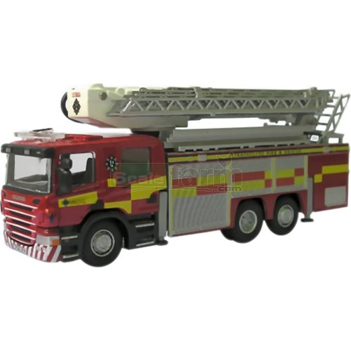 Scania Aerial Rescue Pump - Strathclyde Fire & Rescue (Oxford 76SAL001)