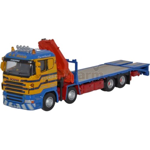 Scania Crane Lorry - D R Macleod (Oxford 76SCL001)