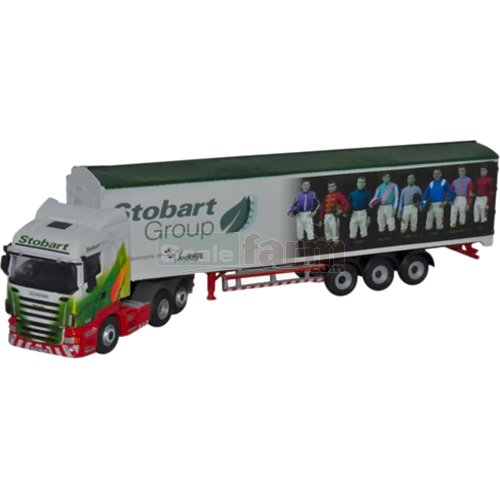 Scania Highline Walking Floor - Stobart Ascot Champions Day (Oxford 76SHL04WF)
